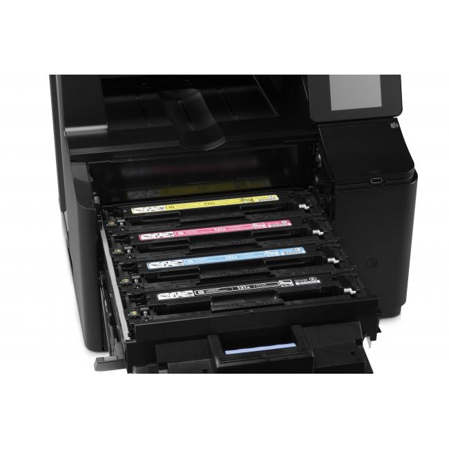 hp scanner - MULTIFUNCION LASER COLOR HP LASERJET PRO 200 M276N FAX ETHERNET 14PPM CONEXION WEB LCD TACTIL