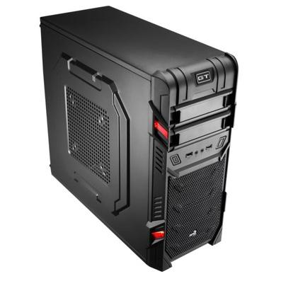 torres aerocool gt advance black usb3 0 red led 1 - Caja Semitorre USB 3.0 Gaming Aerocool