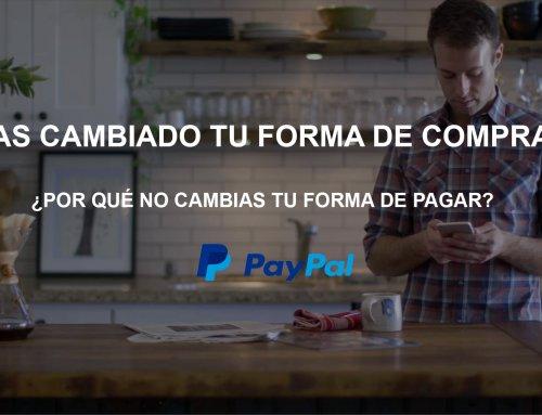 Comprar con tarjeta a través de Paypal